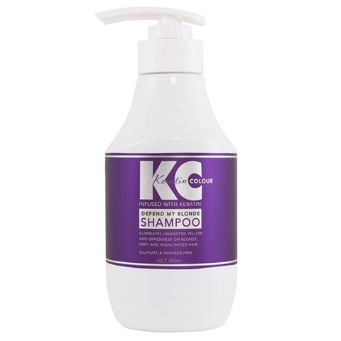 Keratin Colour Defend My Blonde Shampoo - WAHairSuppliers