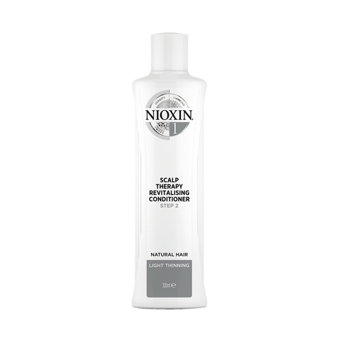 NIOXIN System 1 Scalp Revitaliser Conditioner Natural Hair Light Thinning (300ml)