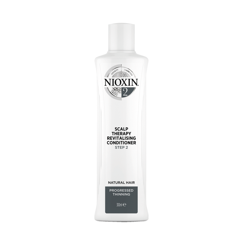 NIOXIN System 2 Scalp Revitaliser Conditioner Natural Hair Progressed Thinning (300ml) - WAHairSuppliers