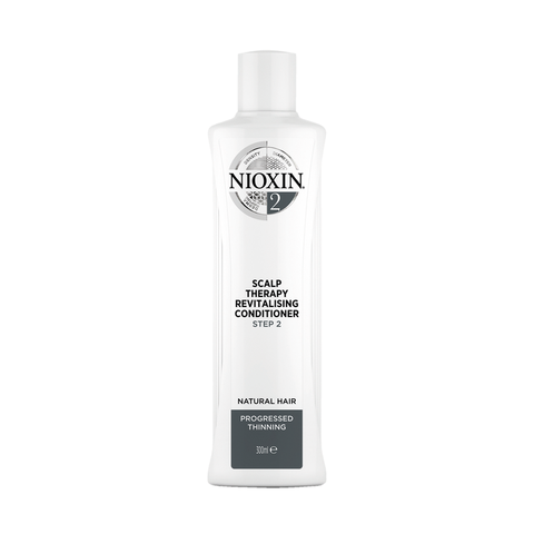 NIOXIN System 2 Scalp Revitaliser Conditioner Natural Hair Progressed Thinning (300ml)