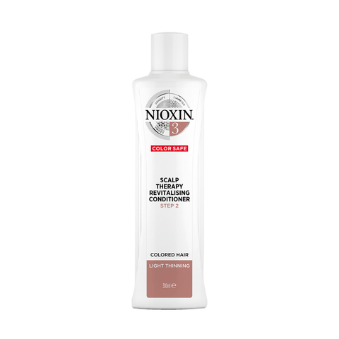 NIOXIN System 3 Scalp Revitaliser Conditioner Colored Hair Light Thinning (300ml)