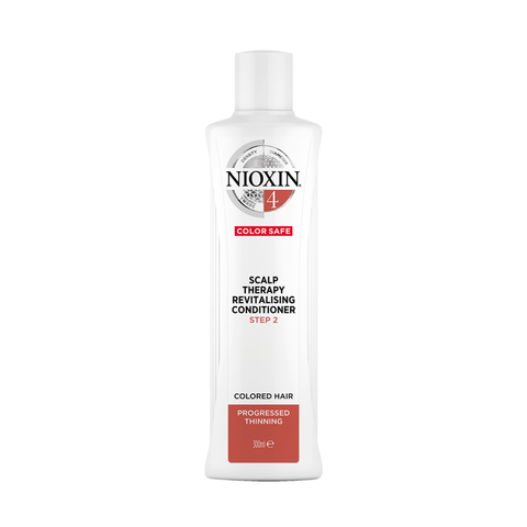 Nioxin System 4 Scalp Therapy Revitalizing Conditioner for Colored Hair with Progressed Thinning (300ml)