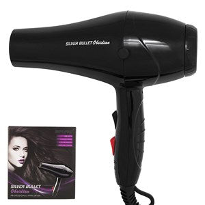 Silver Bullet Obsidian Hair Dryer - WAHairSuppliers