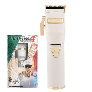 BaBylissPRO WhiteFX Lithium Hair Clipper - WAHairSuppliers