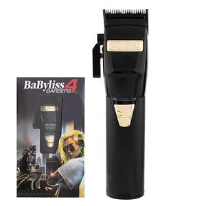 BaBylissPRO BlackFX Lithium Hair Clipper - WAHairSuppliers