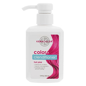 Keracolor Color Clenditioner Colour Shampoo Hot Pink - WAHairSuppliers