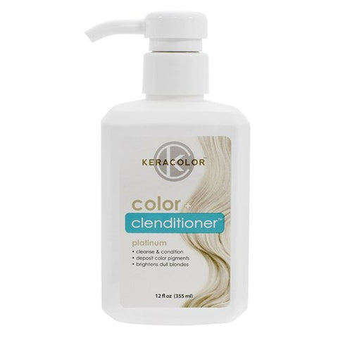 Keracolor Color Clenditioner Colour Shampoo Platinum - WAHairSuppliers