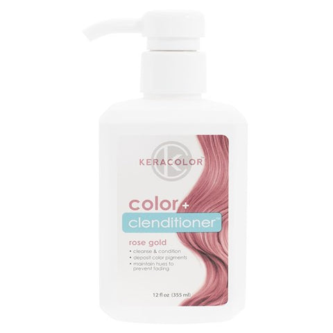 Keracolor Color Clenditioner Colour Shampoo Rose Gold - WAHairSuppliers