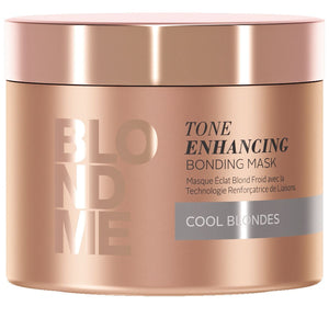 BlondMe Tone Enhancing Bonding Mask Cool Blondes 200ml - WAHairSuppliers