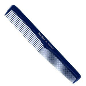 Dateline Professional Blue Celcon 401 Tapered Styling Comb - 17.5cm - WAHairSuppliers