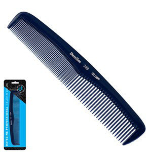 Dateline Professional Blue Celcon 349 Styling Comb - 19cm - WAHairSuppliers