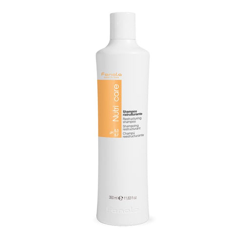 Fanola Nutricare Restructuring Shampoo 350ml - WAHairSuppliers