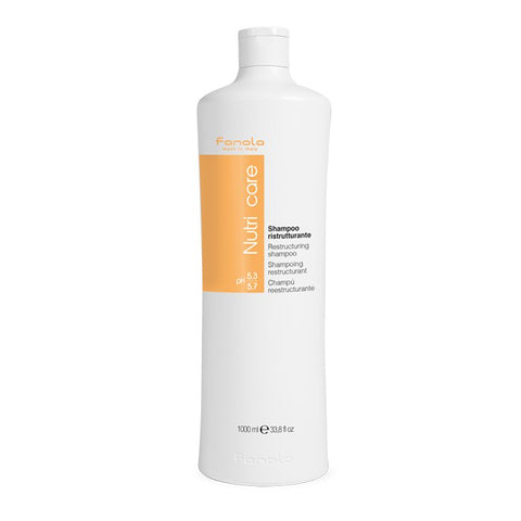 Fanola Nutricare Restructuring Shampoo 1Ltr - WAHairSuppliers