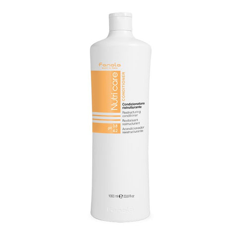 Fanola Nutricare Restructuring Conditioner 1Ltr - WAHairSuppliers