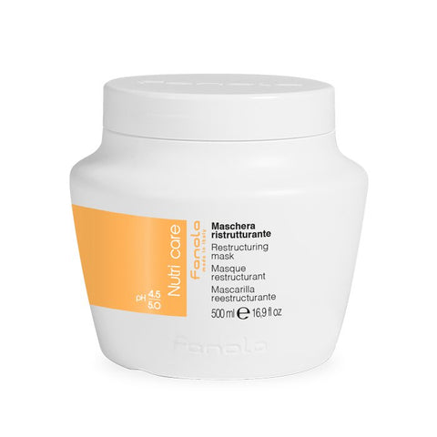 Fanola Nutricare Restructuring Mask 500ml - WAHairSuppliers