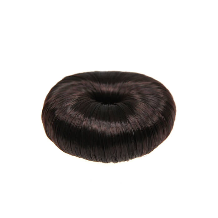 Glammar Professional Hair Donut Synthetic 8cm (Brown) - WAHairSuppliers