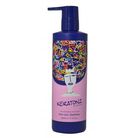 Keratonz By Colornow Color Lock Conditioner 500ml - WAHairSuppliers
