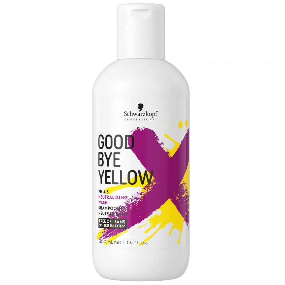 Schwarzkopf Goodbye Yellow Shampoo 300ml - WAHairSuppliers