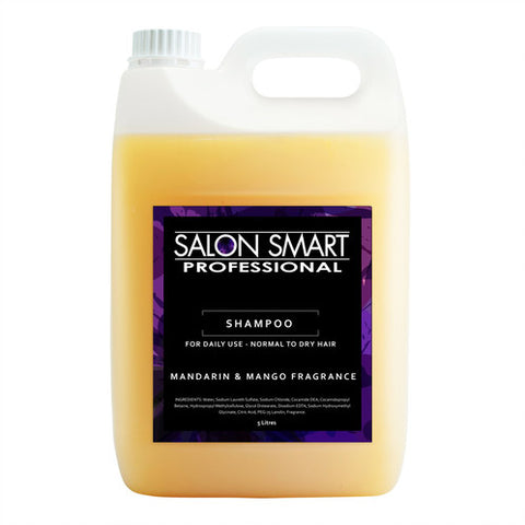 Salon Smart Mandarin & Mango Shampoo 5000mL - WAHairSuppliers