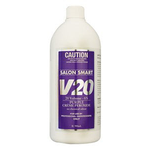 Salon Smart Purple 20 Vol. Peroxide 1L - WAHairSuppliers