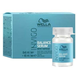 Wella Professionals Invigo Balance Serum 8 x 6ml - WAHairSuppliers