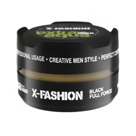 X-Fashion Extra Aqua Hair Wax Full Force Black 150ml