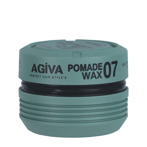 Agiva 07 Pomade Wax Hold/Shine Finish 175ml - WAHairSuppliers