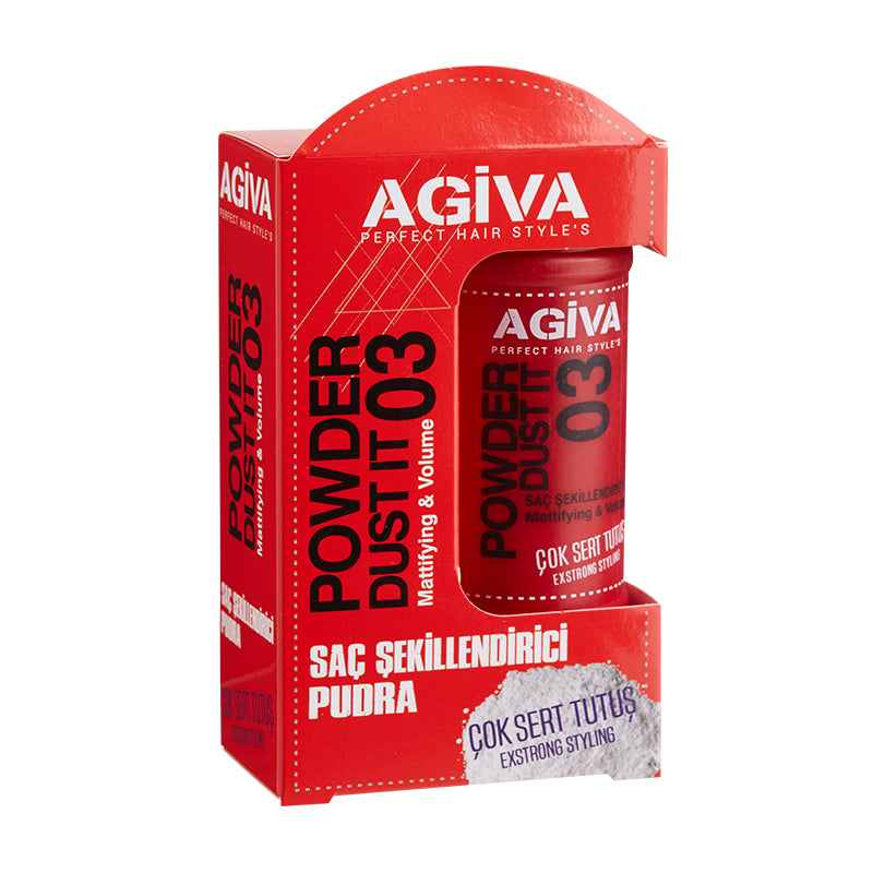 Agiva Powder Dust It 03 Extra Strong Styling 20g - WAHairSuppliers