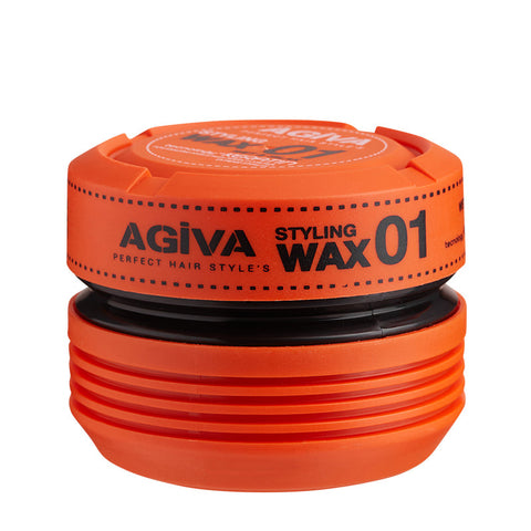 Agiva 01 Styling Wax Wet Look 175ml - WAHairSuppliers