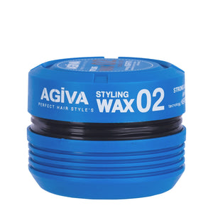 Agiva 02 Styling Wax Strong 175ML - WAHairSuppliers