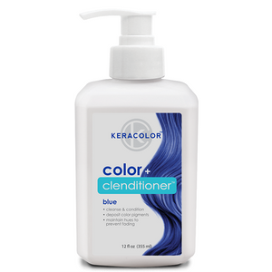 Keracolor Color Clenditioner Colour Shampoo Blue - WAHairSuppliers