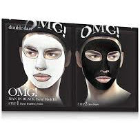 OMG 2 in 1 Man In Black Mask - WAHairSuppliers