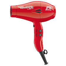 Parlux Advance Light Ceramic and Ionic Hair Dryer Red - WAHairSuppliers