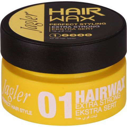 Jagler Hair Wax 01 Extra Strong Yellow 150ml