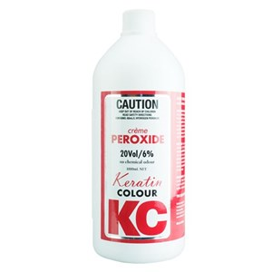 Keratin Colour 20 Volume Crème Peroxide – 990mL - WAHairSuppliers