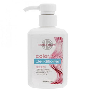 Keracolor Color Clenditioner Colour Shampoo Light Pink - WAHairSuppliers