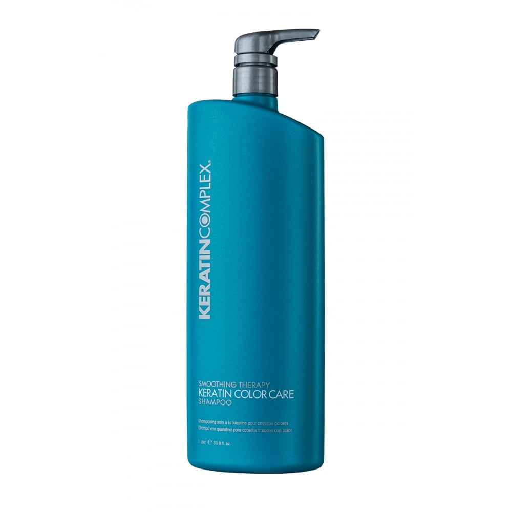 Keratin Complex Smoothing Therapy Colour Care Shampoo 1L - WAHairSuppliers