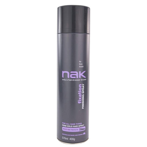 Nak Fixation Finishing Spray 576mL - WAHairSuppliers