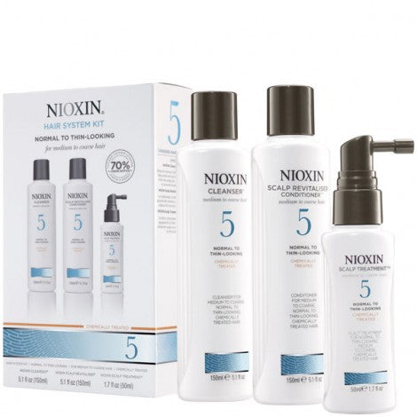 Nioxin System 5 Trio Pack - WAHairSuppliers