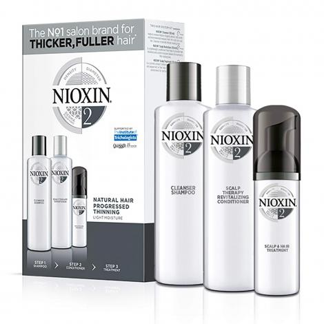 Nioxin System 2 Trio Pack - WAHairSuppliers