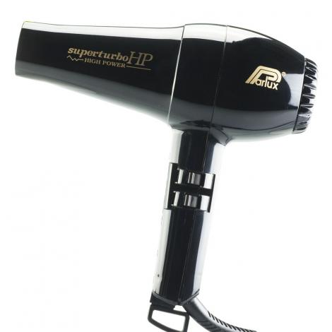 Parlux Superturbo HP High Power Hair Dryer, Black
