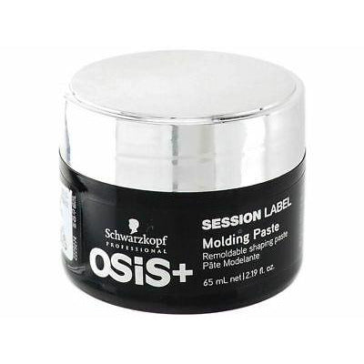Schwarzkopf OSIS+ Session Label Molding Paste 65ml - WAHairSuppliers