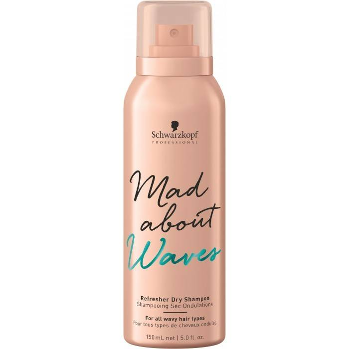Schwarzkopf - Mad About Waves Refresher Dry Shampoo 150mL - WAHairSuppliers