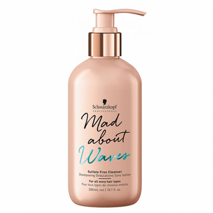 Schwarzkopf - Mad About Waves Sulfate Free Cleanser 300mL - WAHairSuppliers