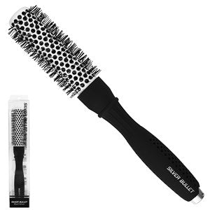Silver Bullet Black Velvet Hot Tube Hair Brush Small - WAHairSuppliers
