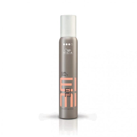 WELLA Professionals EIMI Curl Craft Wax Mousse (200ml) - WAHairSuppliers