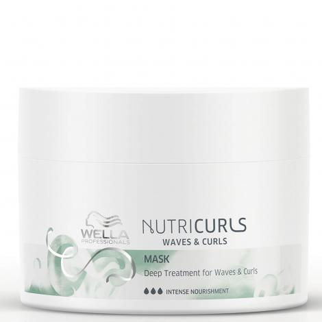 Wella Nutricurls Waves & Curls Mask Deep Nourishment 150ml - WAHairSuppliers