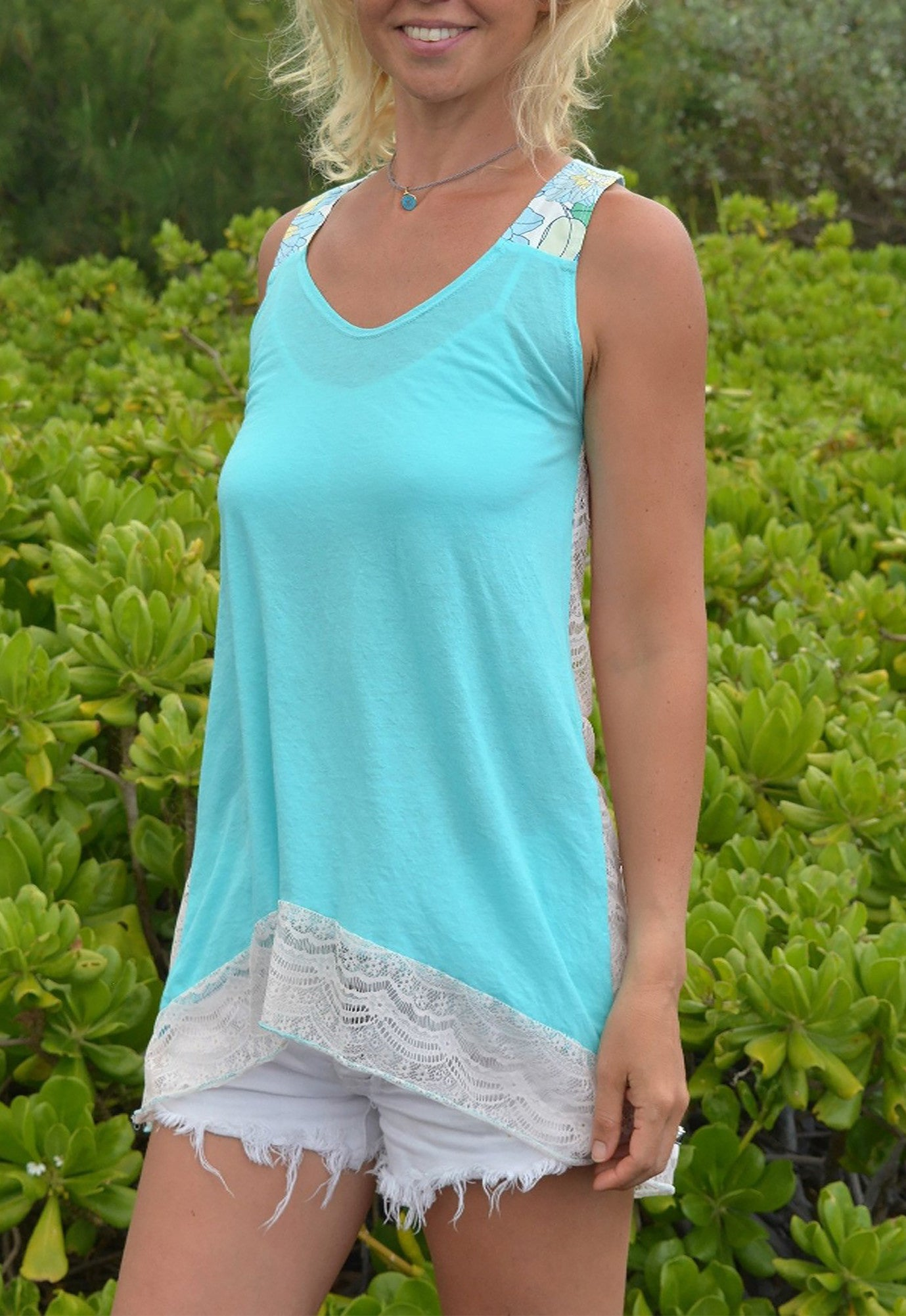 Free And Flair Tunica Top
