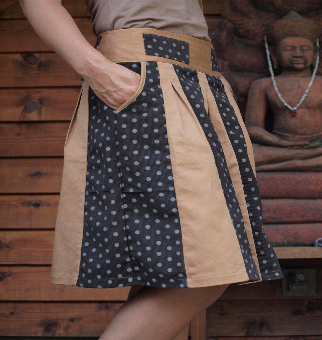 Wide And Wild Skirt