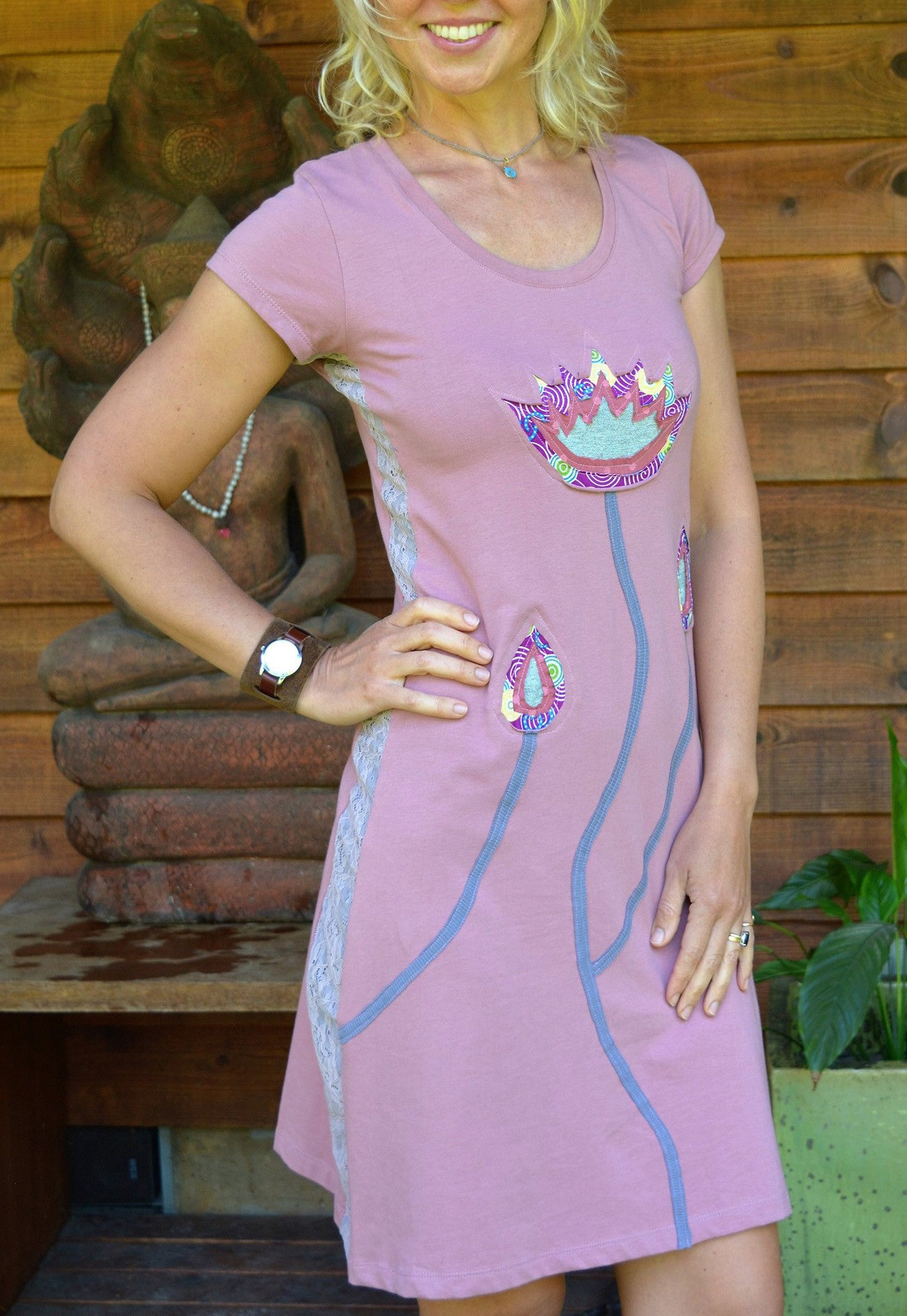 Blooming Lotuses Dress
